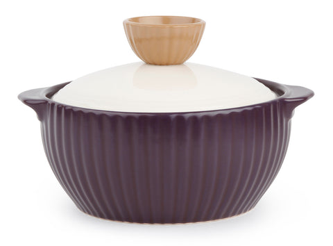 Neoflam Mystic Valley 1.4 Quart Ceramic Stovetop Cookware in Purple