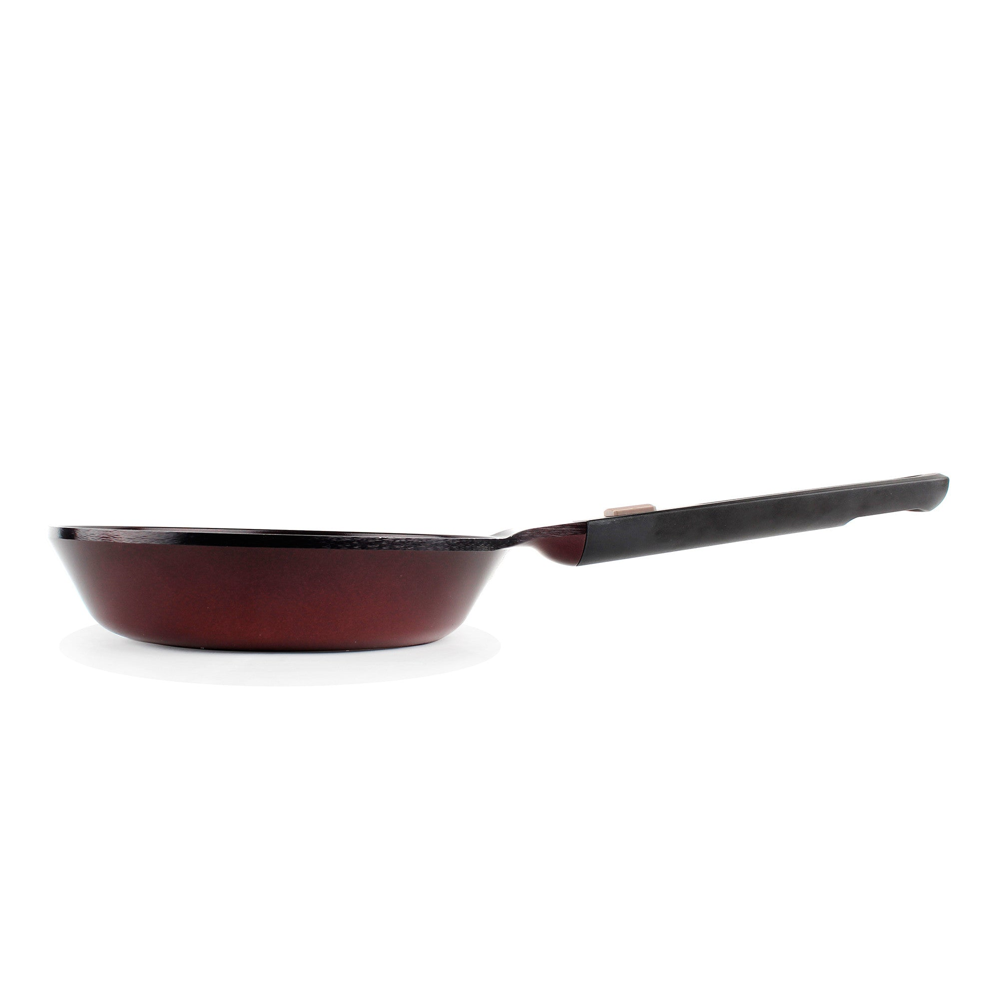 neoflam mypan 95 inch ceramic nonstick frying pan in ruby red detachable handle - Ceramic Frying Pan
