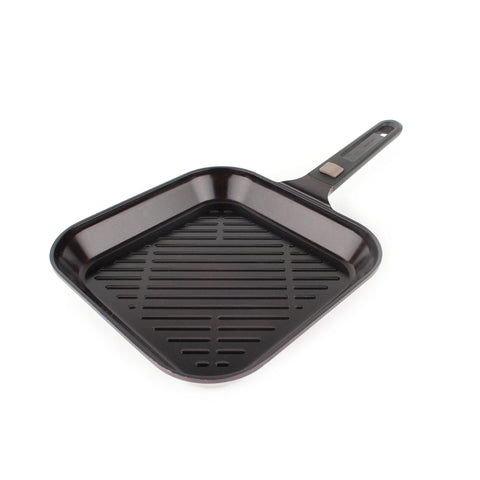 "MyPan 11"" Grill Pan, Detachable Handle"