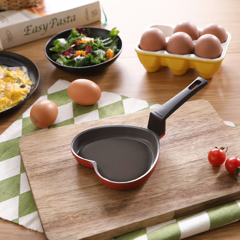 Aeni Heart-Shaped Egg Pan
