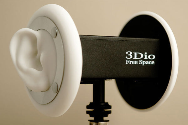 3Dio Sound Free Space Binaural Microphone