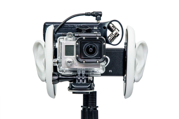 Camera and Audio Recorder Mounting Hardware Bracket