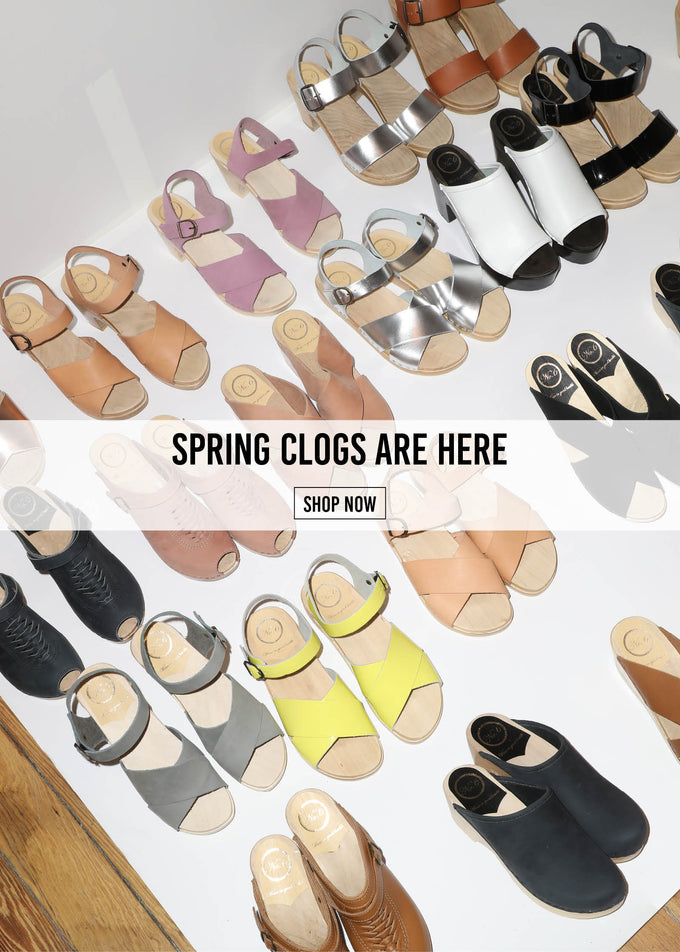 New Spring Clogs from No.6 | No.6 Clogs | No.6 Store