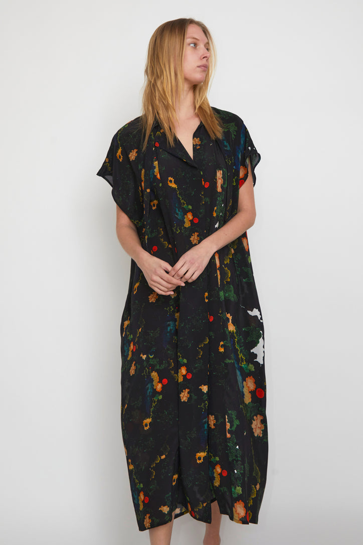 Image of Anntian Shawly Big Dress in Print B