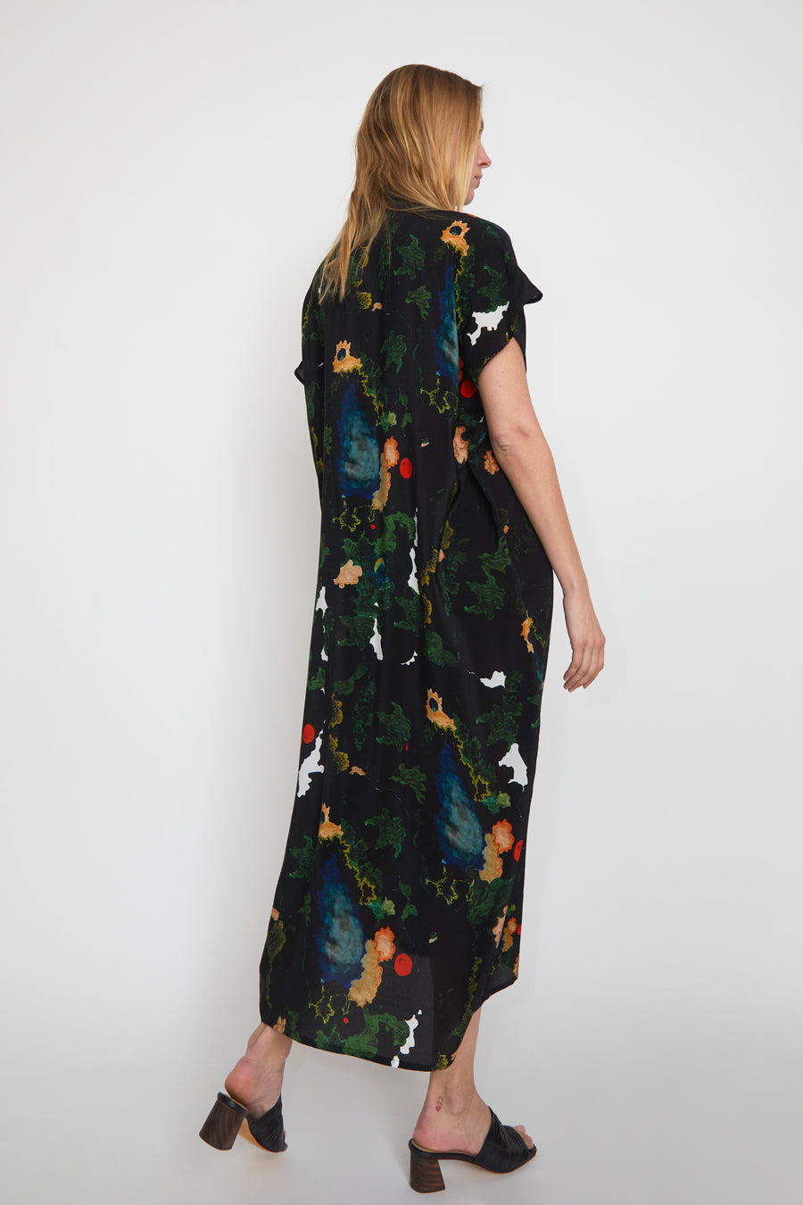 Anntian Shawly Big Dress in Print B