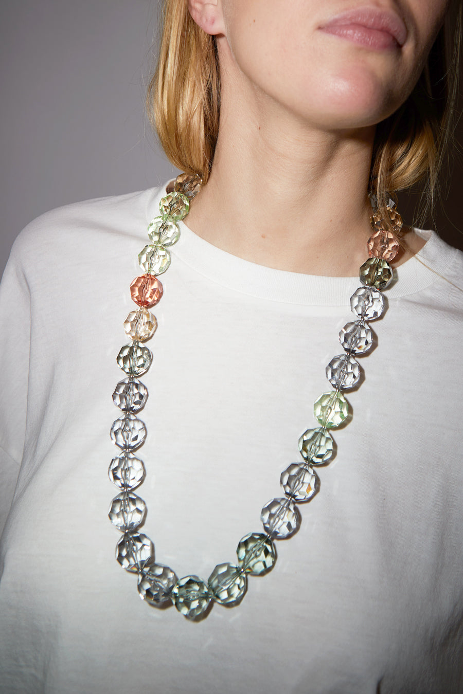 Florian Necklace in Green Rose