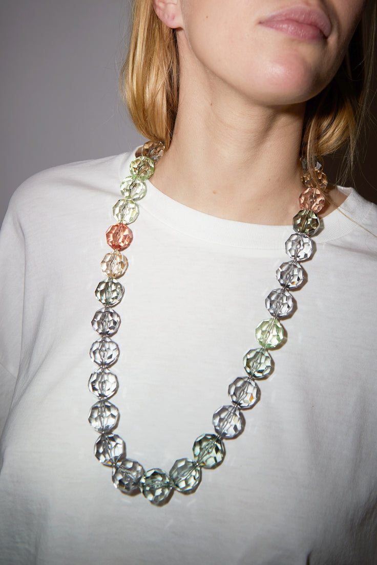 Image of Florian Necklace in Green Rose