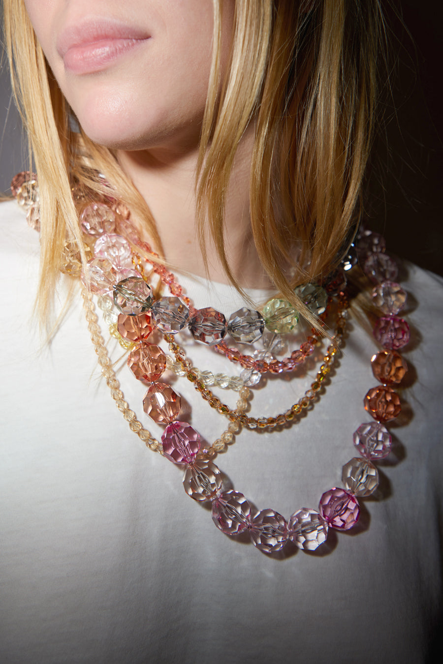 Florian Necklace in Pink