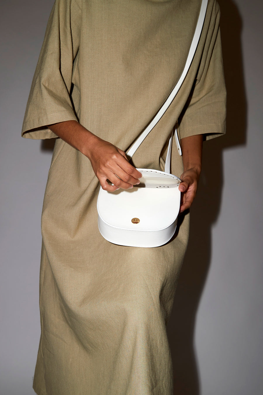 Herbert Frere Soeur Le Georges Bag in White