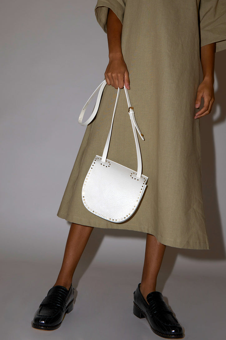 Image of Herbert Frere Soeur Le Georges Bag in White