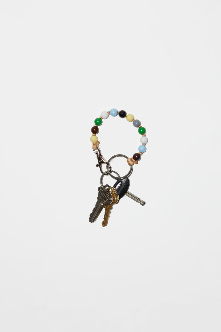 Image of Ina Seifart Perlen Multi Short Keyholder in Multi Combo