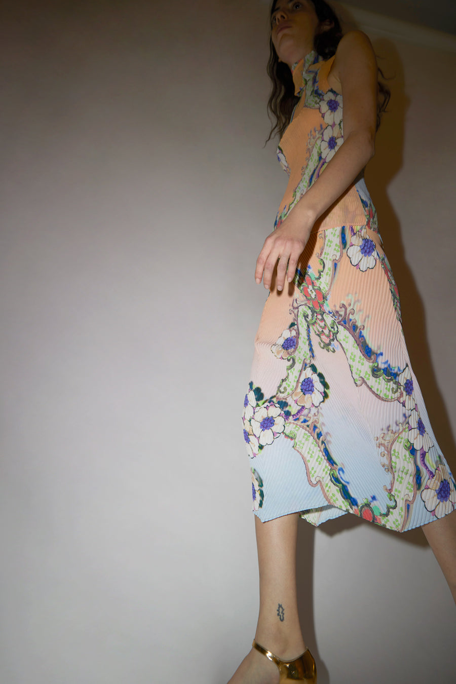 Julia Heuer Luke Skirt in Print Daria #1