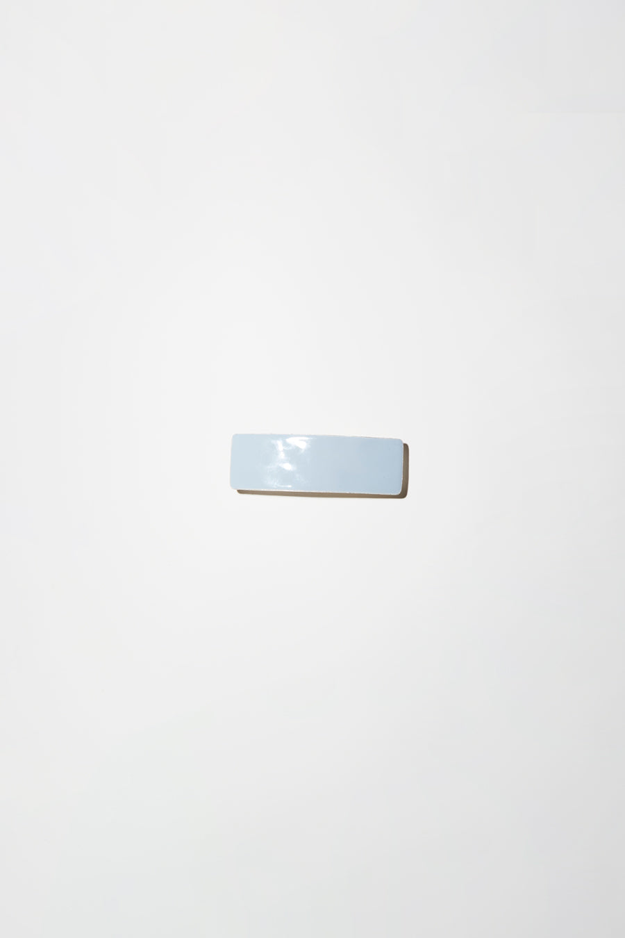 Little Woman Paris Rectangle Barrette in Fumee