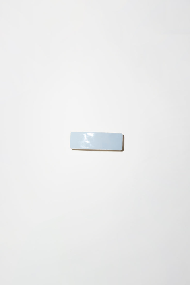Image of Little Woman Paris Rectangle Barrette in Fumee
