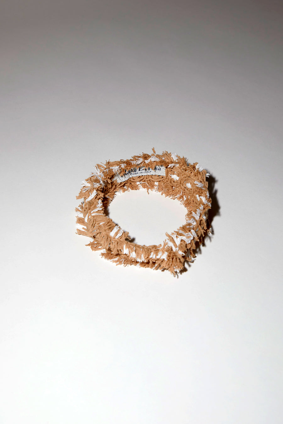 Maria La Rosa Hairband in Angelica Nude