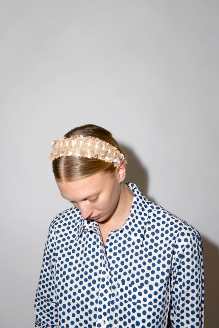 Image of Maria La Rosa Hairband in Angelica Nude