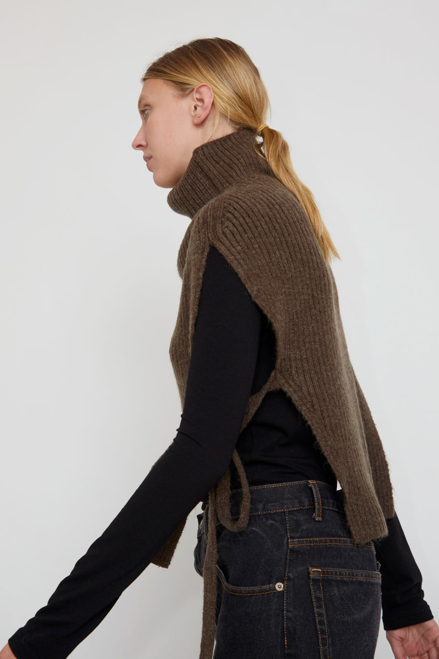 Mijeong Park Neck Warmer in Brown