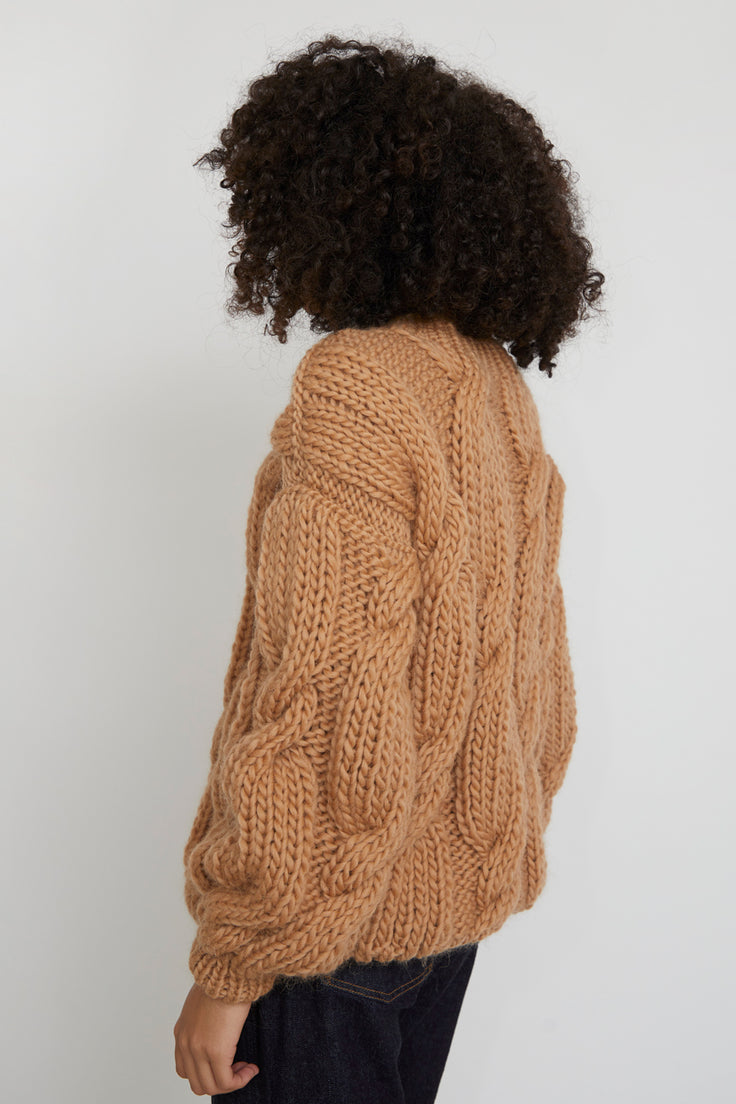 Image of Mirstores Onion Sweater in Sand