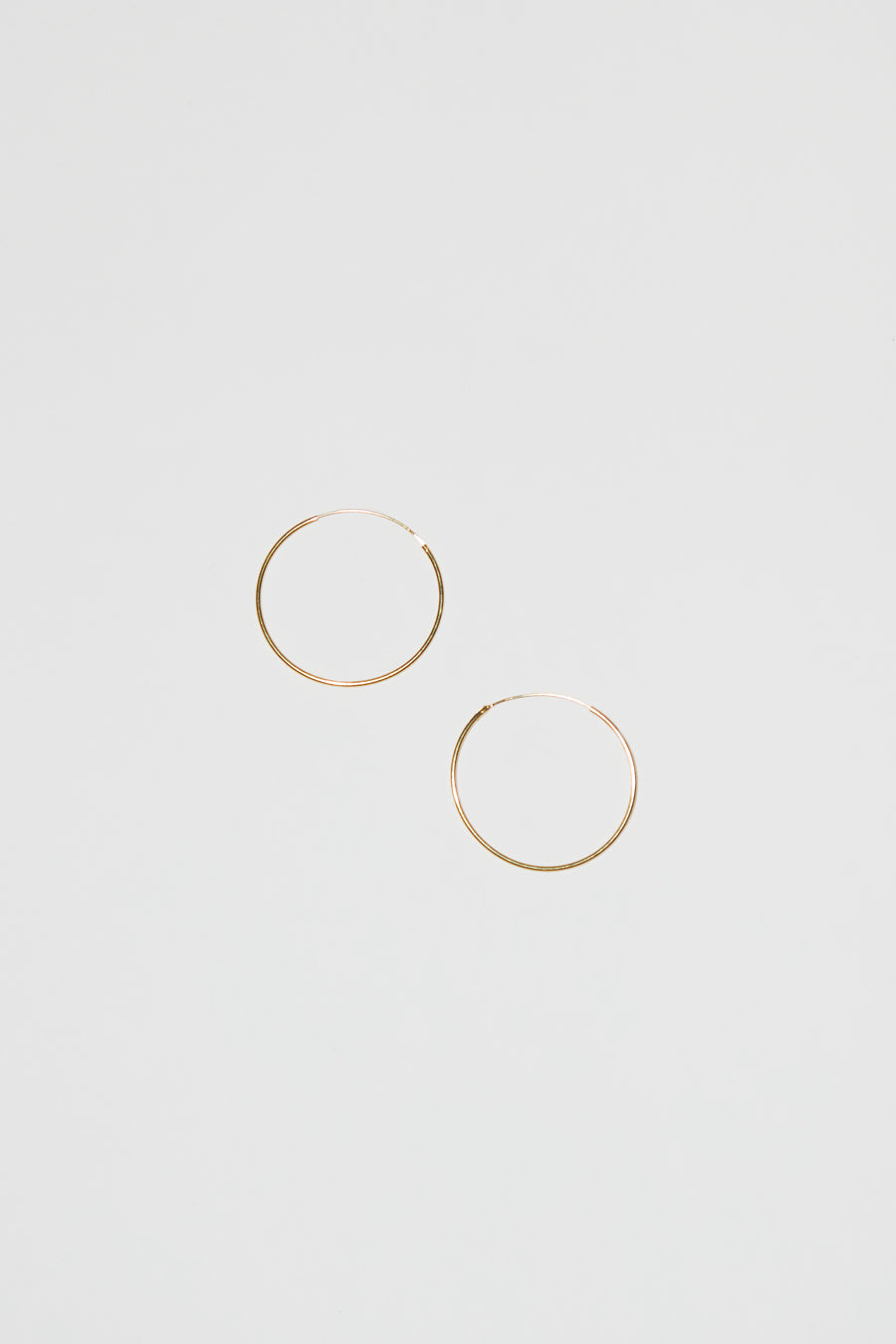 Ninfa Balance Snake Large Hoop Earrings
