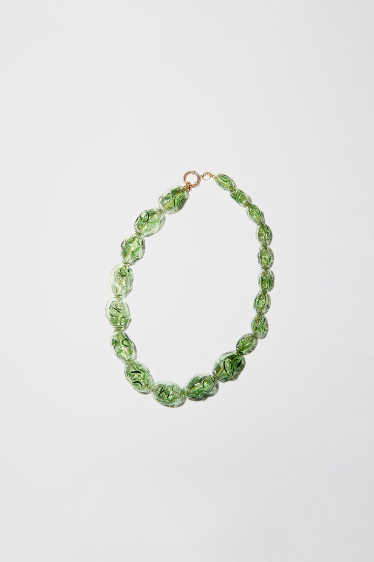 Image of Ninfa Elvira Necklace in Green