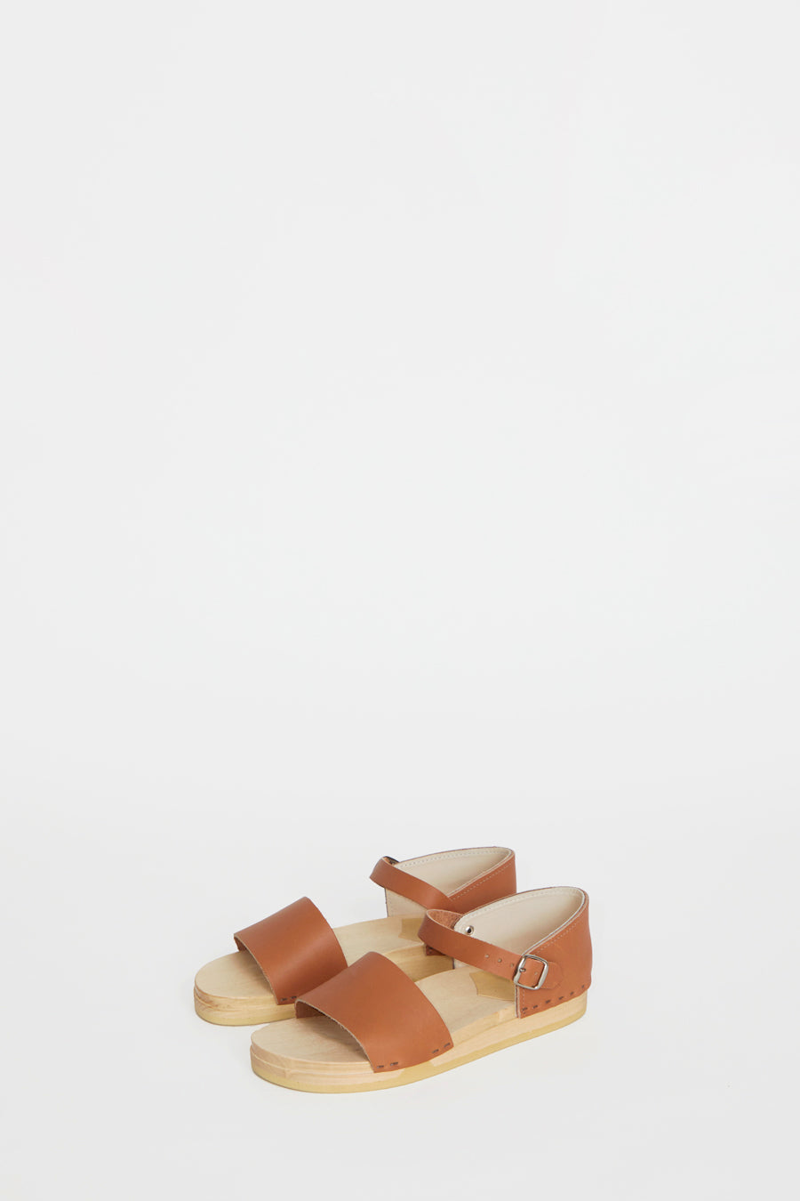 No.6 Scout Sandal on Bendable Base in Palomino