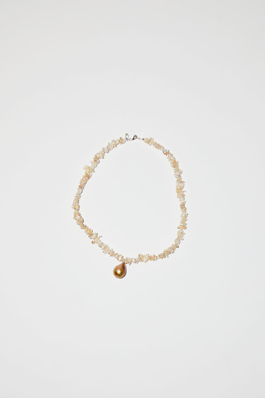 Santangelo Kitano Necklace in White