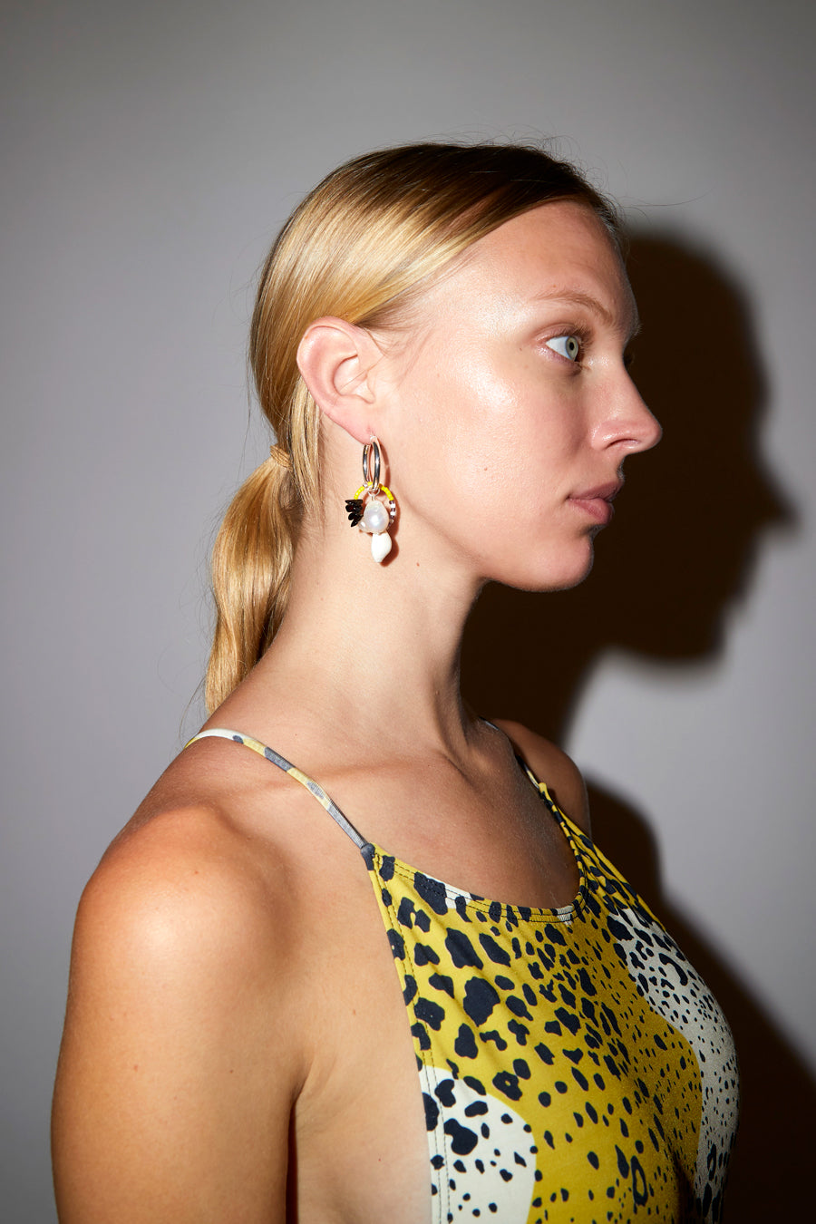 Santangelo Ku Earring in Honey