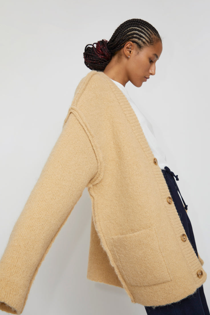 Image of StandAlone Cardigan in Beige