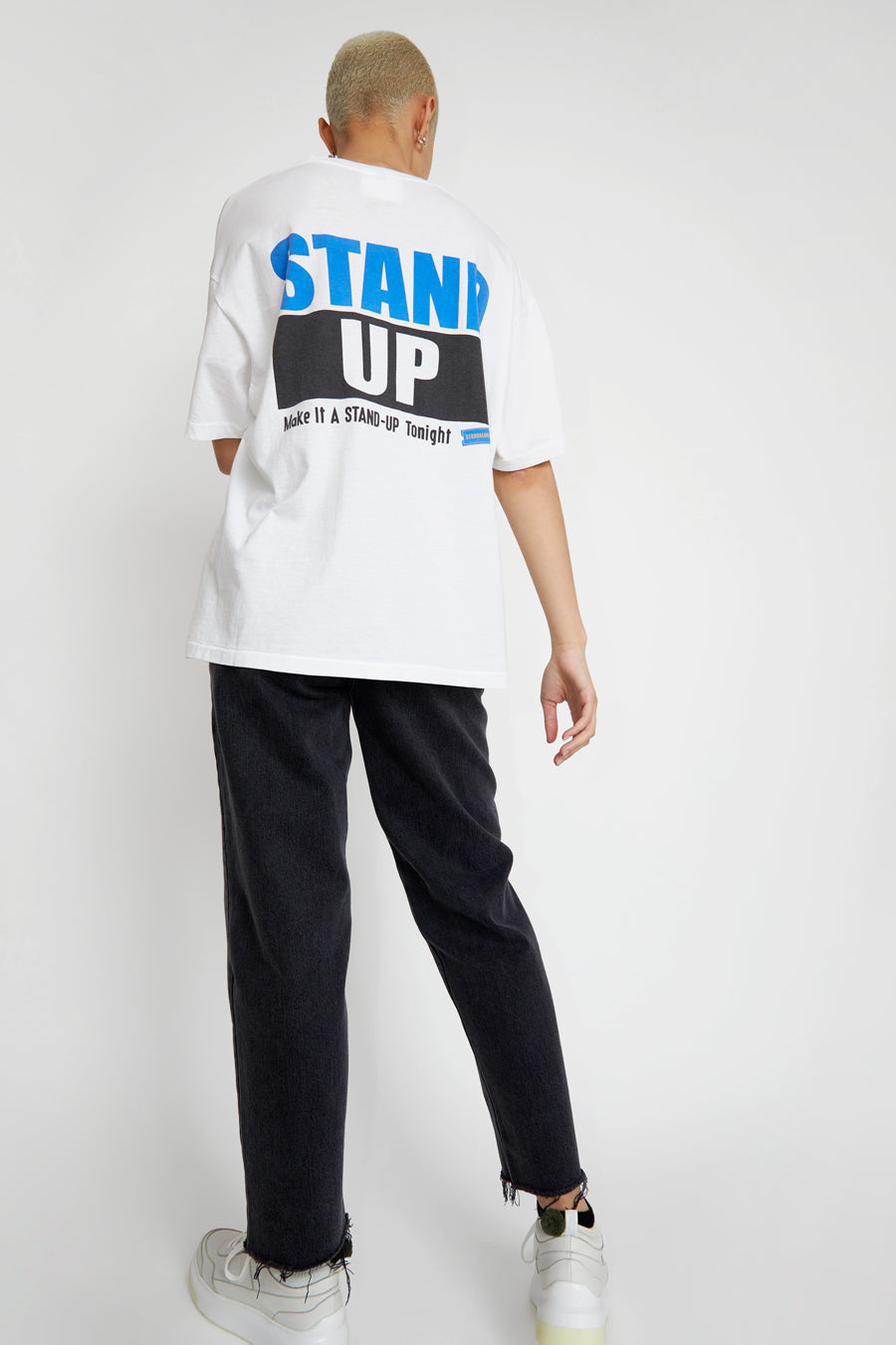 StandAlone Stand Up Tee in White