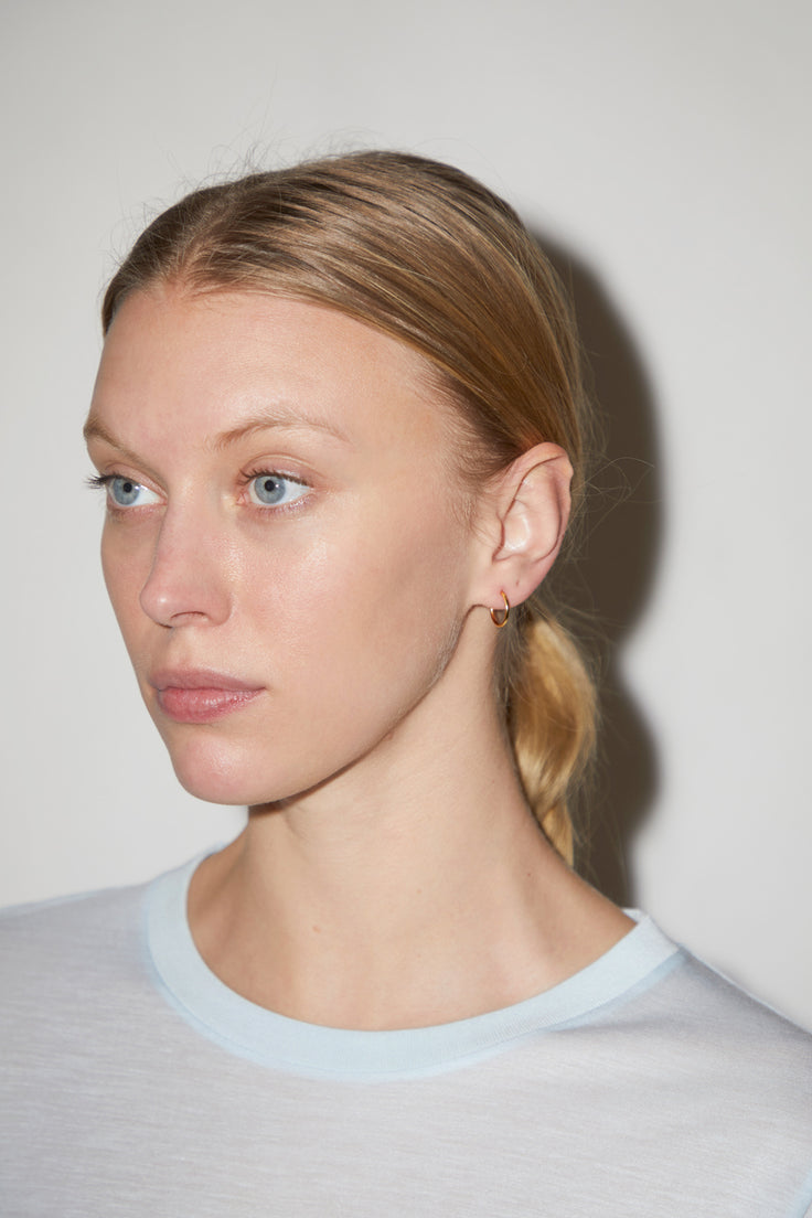 Image of Vibe Harslof Anna Small Hoops in Gold