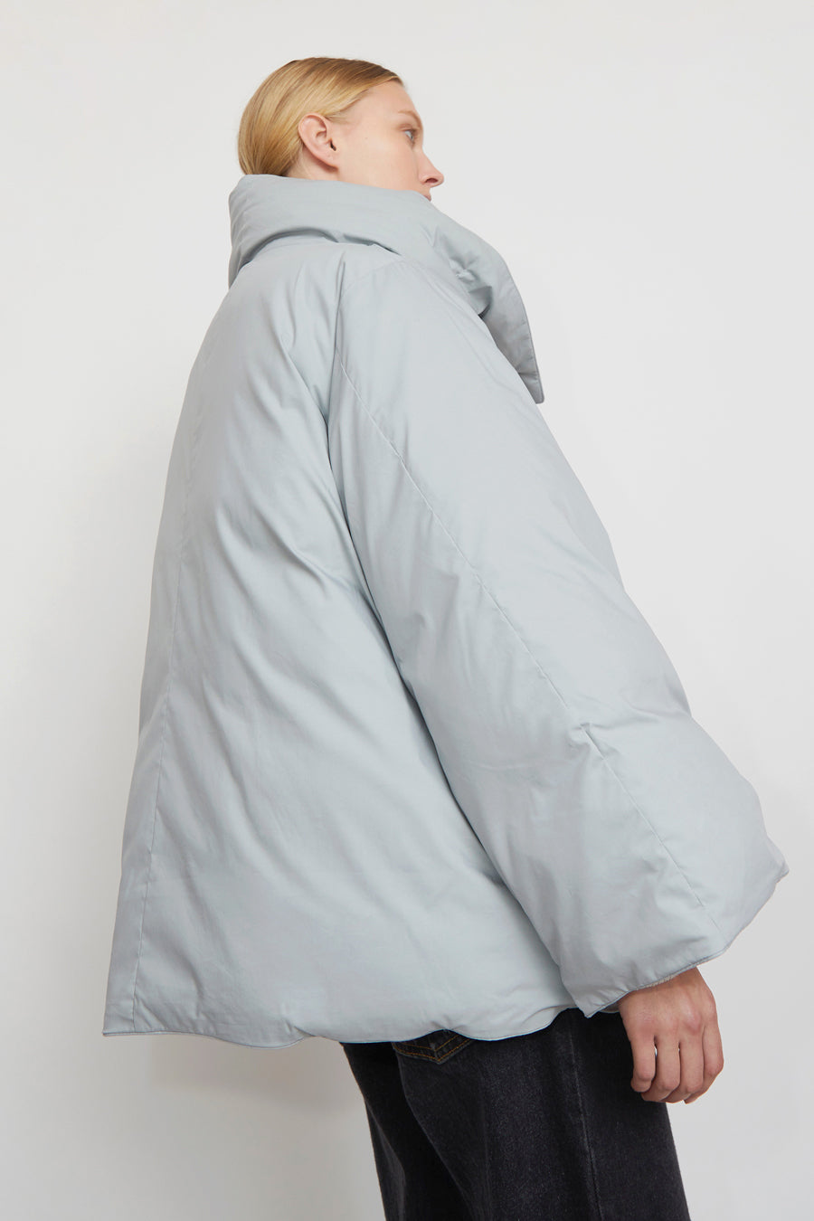 YearOne Happy Jacket with Detachable Hood in Cloud