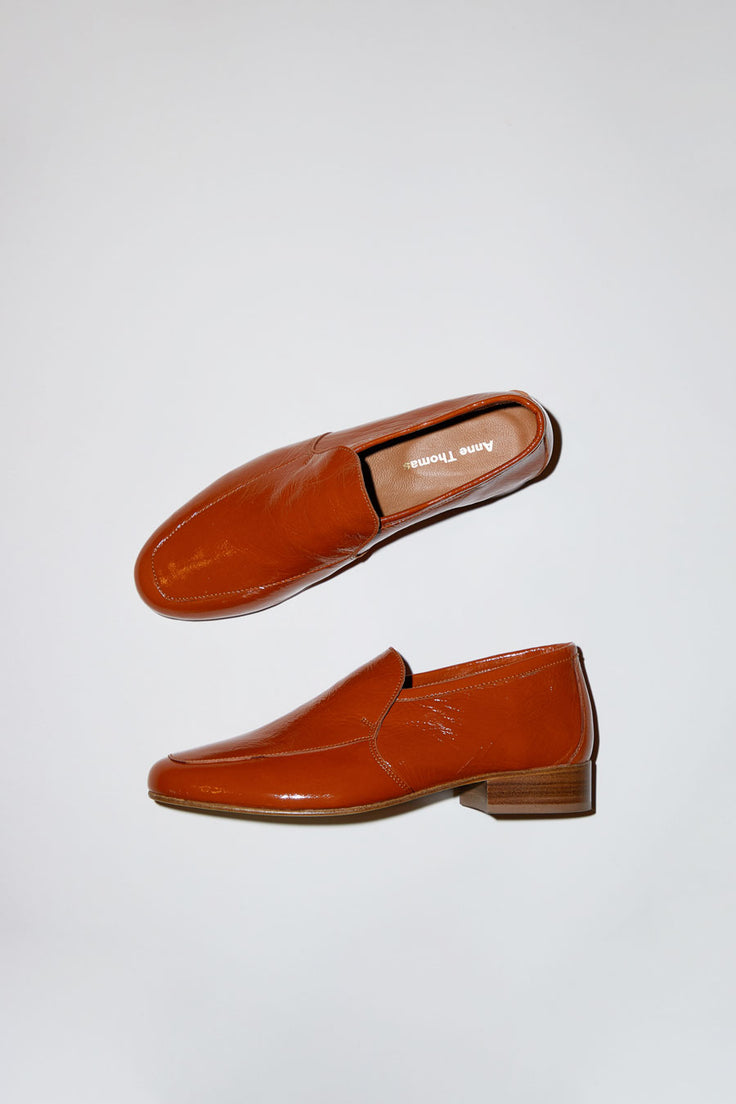 Image of Anne Thomas Leo Loafer in Koki Brown