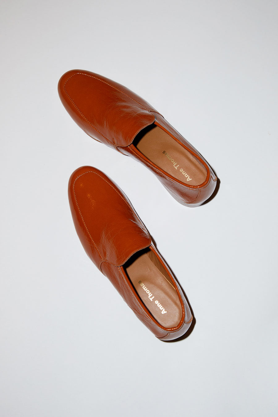 Anne Thomas Leo Loafer in Koki Brown