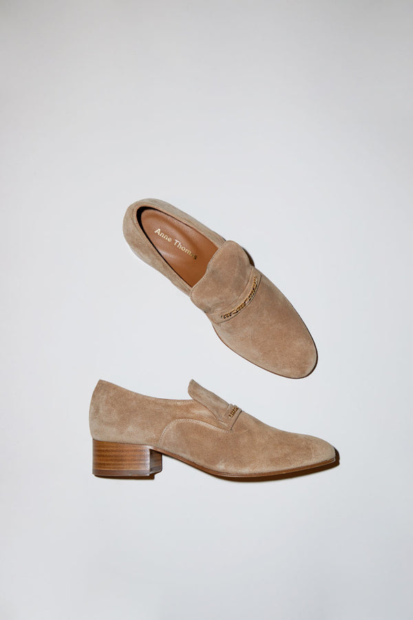 Anne Thomas Montana Jewel Loafer in Tobacco