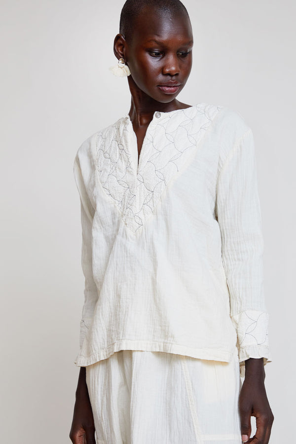Atelier Delphine Meadow Top in Kinari Quilt