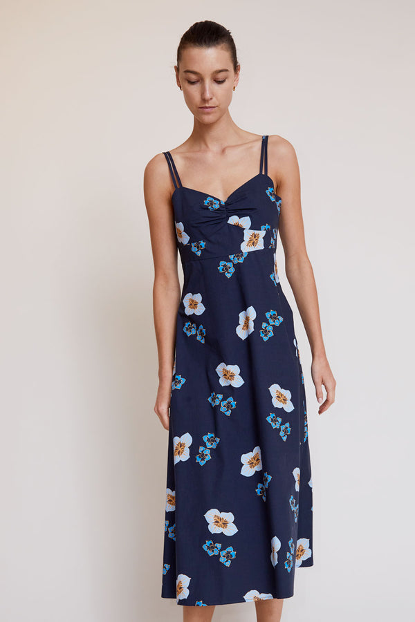 No.6 Bali Sundress in Blue Amalfi