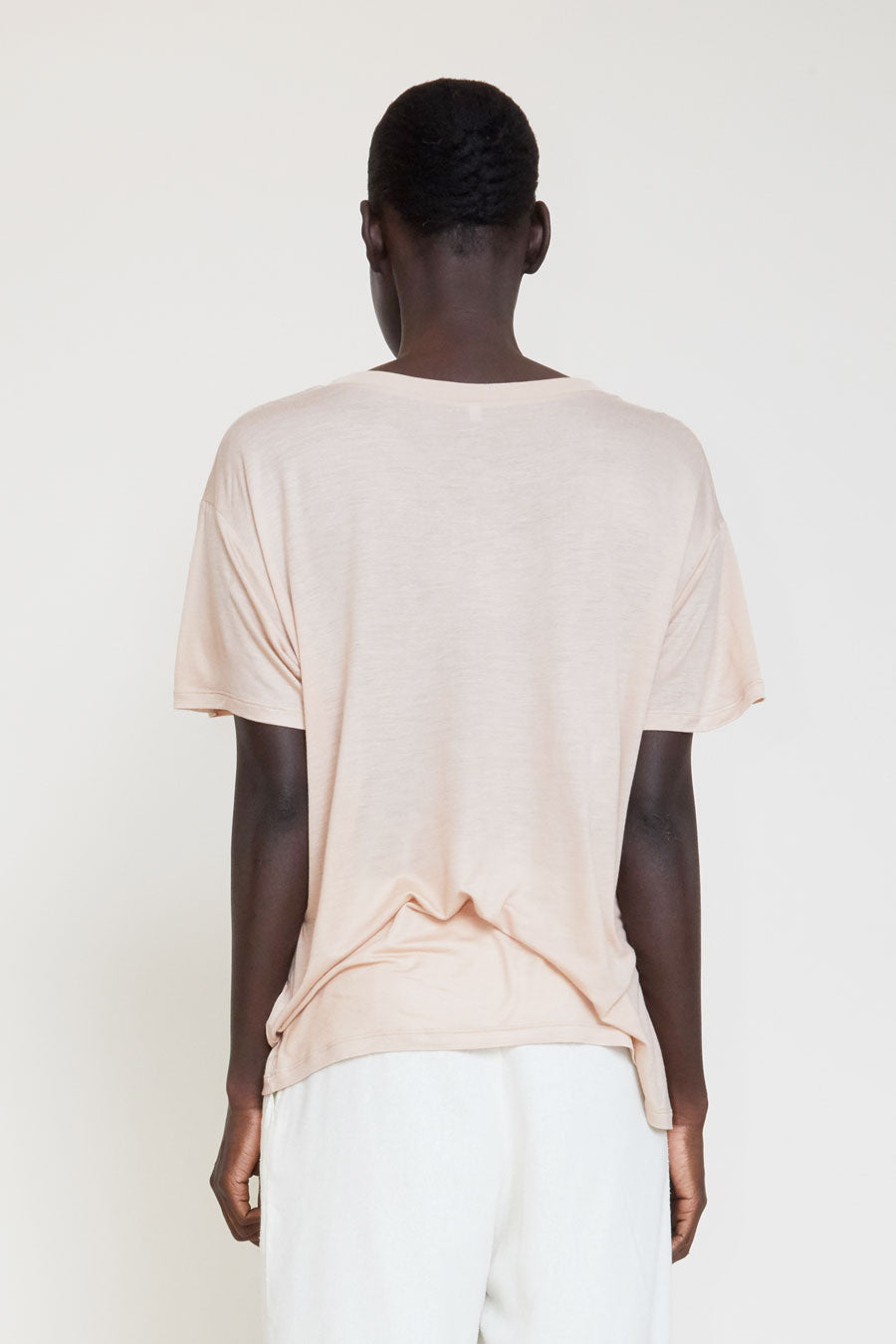 Baserange Loose Tee in Nude