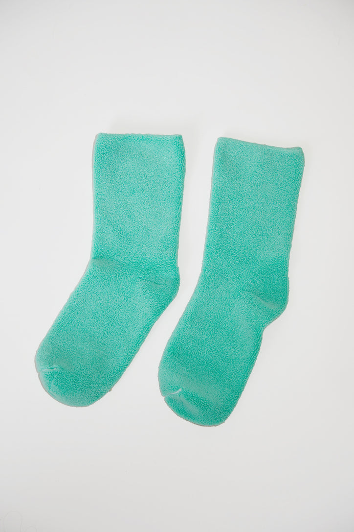 Image of Baserange Buckle Overankle Socks in Mint
