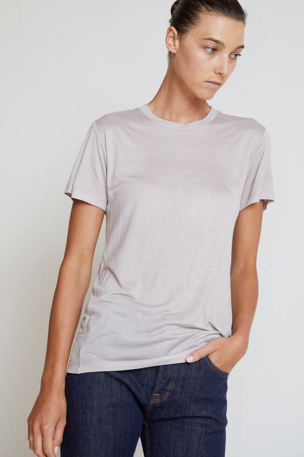 Baserange Bamboo T-Shirt in Ya Grey