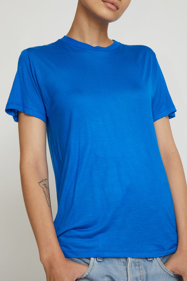 Baserange Tee Shirt in Hanja Blue