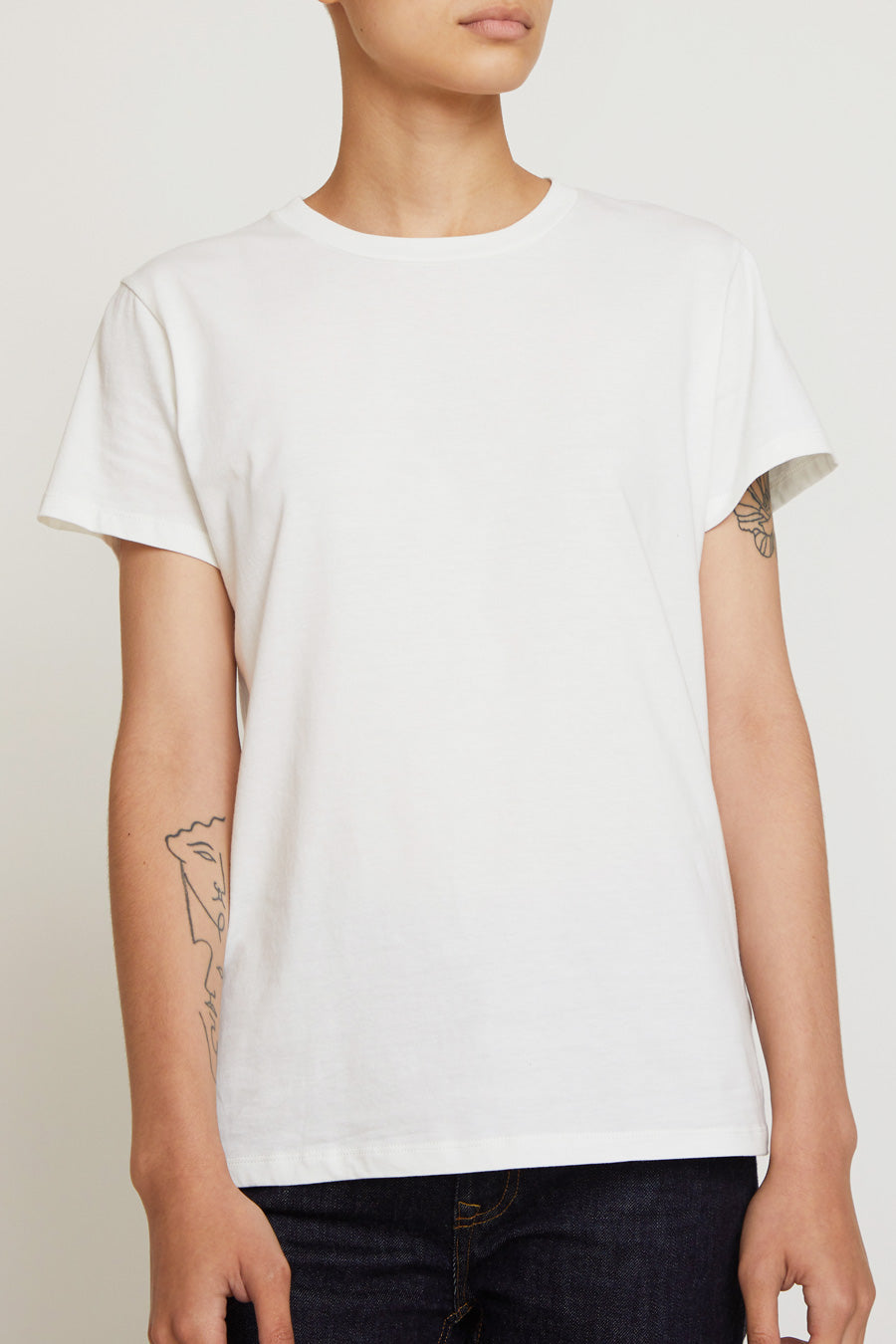 Baserange T-Shirt in Off-White