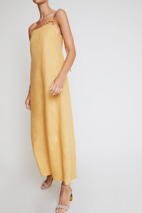 Belize Paloma Strap Dress in Desert