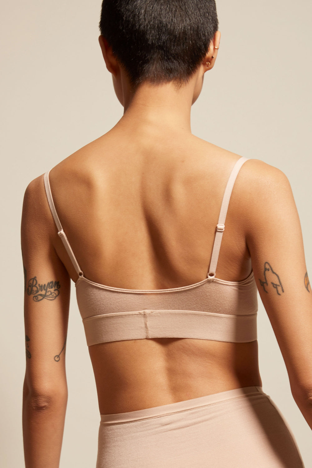 Baserange Soft Bra in Nude