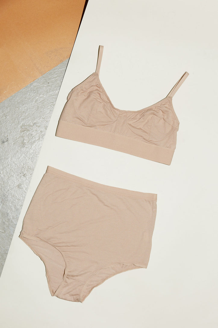 Image of Baserange Soft Bra in Nude