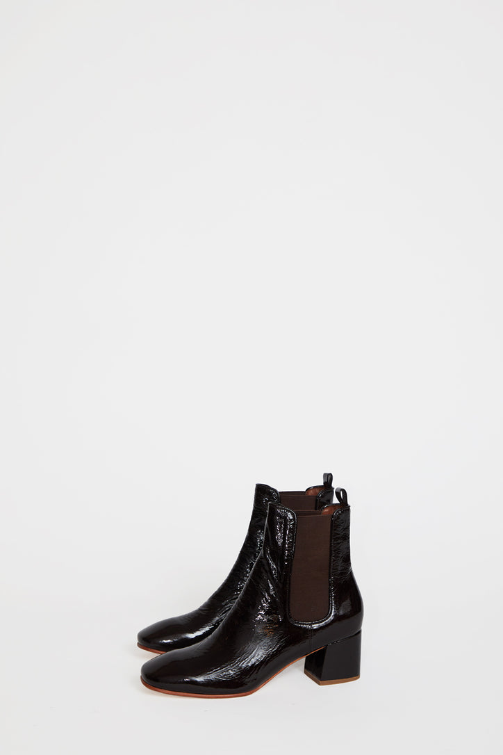 Image of No.6 Bristol Ankle Boot in Espresso Crinkle