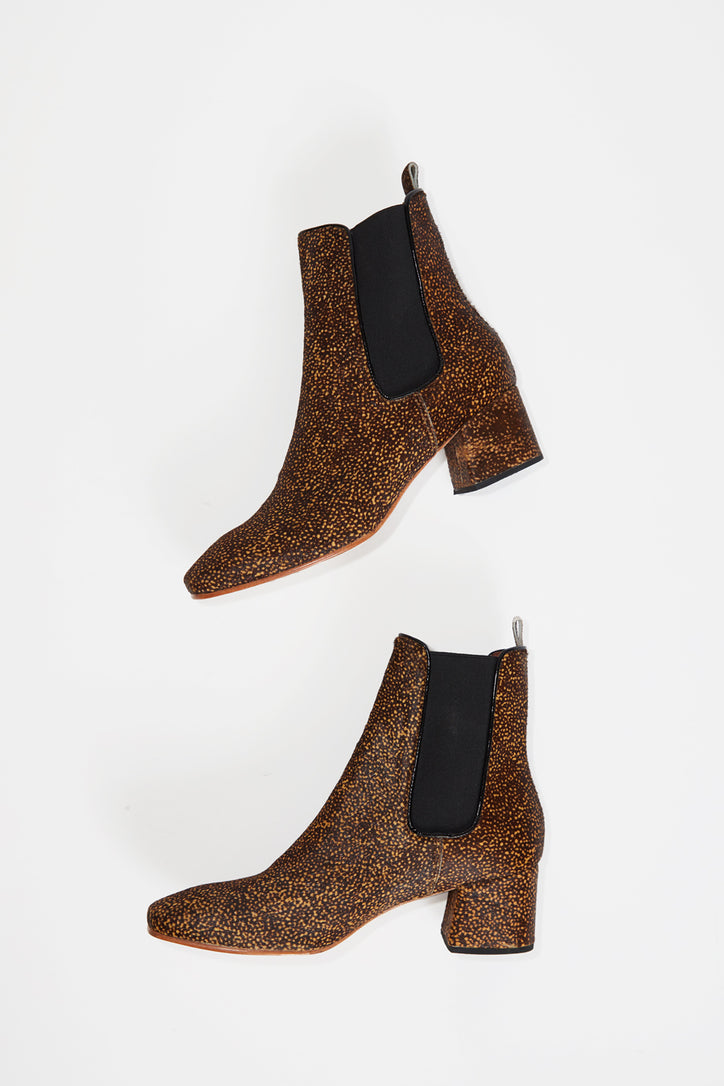 Image of No.6 Bristol Ankle Boot in Speckled Pony