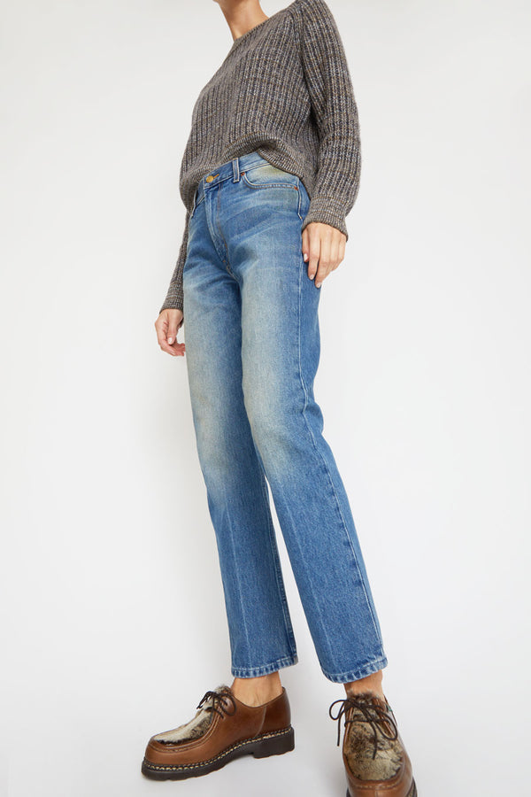B Sides Arts Mid Straight Jean in Doug Dark Vintage
