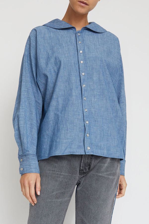 B Sides Bresson Shirt in Beaton Blue