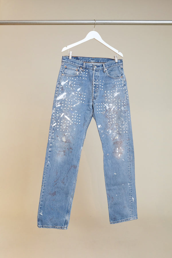 B Sides Checkerboard Jean # 6