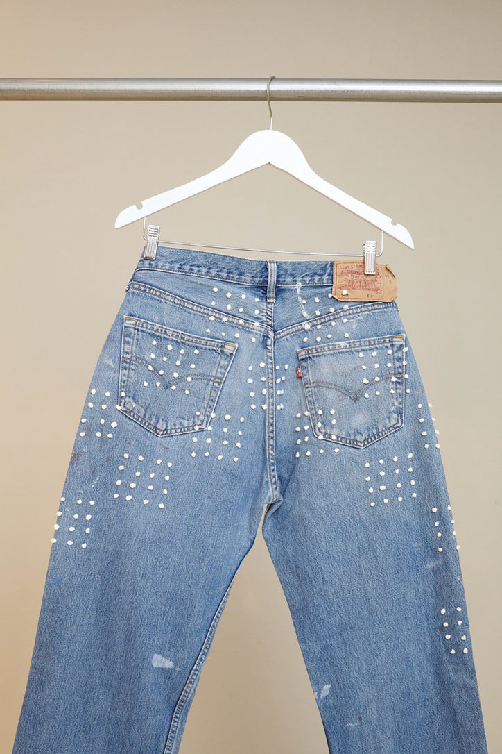 Image of B Sides Checkerboard Jean # 6
